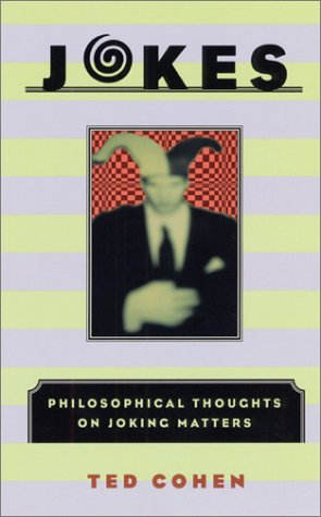 Jokes Philosophical Thoughts on Joking Matters  2001 edition cover