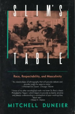 Slim's Table Race, Respectability, and Masculinity Abridged edition cover