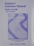 Student Solutions Manual, Multivariable for Calculus and Calculus Early Transcendentals 2nd 2015 edition cover