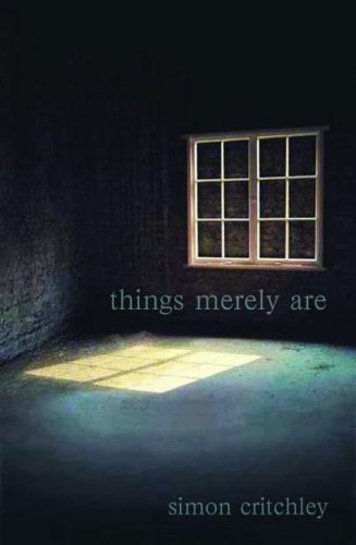 Things Merely Are Philosophy in the Poetry of Wallace Stevens  2005 edition cover