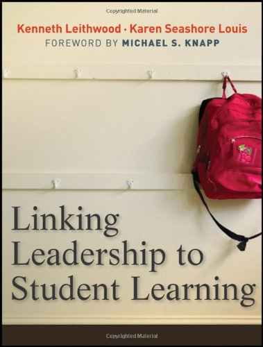 Linking Leadership to Student Learning   2012 edition cover