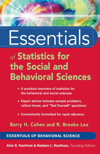 Essentials of Statistics for the Social and Behavioral Sciences   2004 edition cover