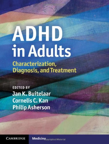 ADHD in Adults Characterization, Diagnosis, and Treatment  2011 9780521864312 Front Cover