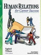 Human Relations for Career Success  5th 1998 9780538679312 Front Cover