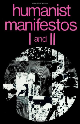 Humanist Manifestos I and II  N/A edition cover