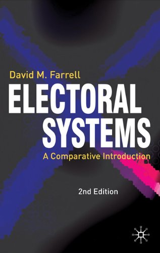 Electoral Systems A Comparative Introduction 2nd 2011 (Revised) edition cover