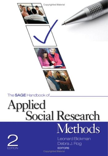 SAGE Handbook of Applied Social Research Methods  2nd 2009 edition cover
