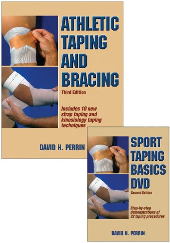 Athletic Taping and Bracing Book/DVD Package-3rd Edition  3rd 2012 edition cover