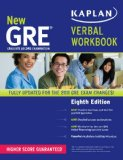GRE� Verbal  8th 2013 (Revised) edition cover