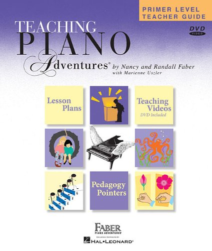 Primer Level - Teacher Guide Piano Adventures N/A edition cover