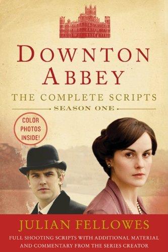 Downton Abbey Script Book Season 1  N/A edition cover