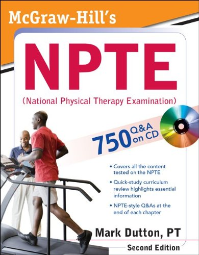 NPTE - National Physical Therapy Examination  2nd 2012 edition cover