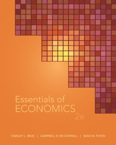 Essentials of Economics  2nd 2010 9780073511313 Front Cover