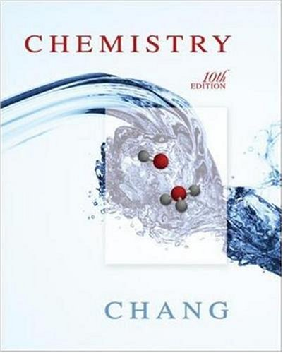 Chemistry  10th 2010 edition cover