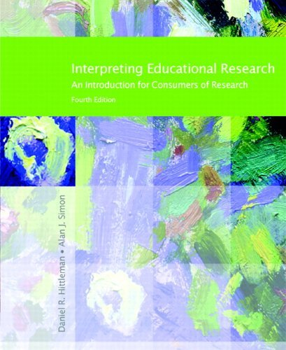 Interpreting Educational Research  4th 2006 edition cover
