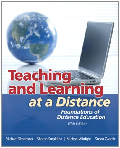 Teaching and Learning at a Distance Foundations of Distance Education 5th 2012 edition cover