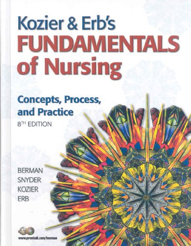 Kozier& erbs fundl&acc code&clinical Handbk  8th 2008 9780135147313 Front Cover