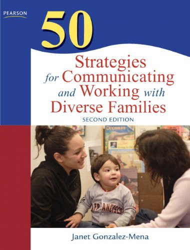 50 Strategies for Communicating and Working with Diverse Families  2nd 2010 edition cover