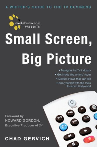 Small Screen, Big Picture A Writer's Guide to the TV Business  2008 edition cover