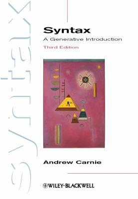 Syntax A Generative Introduction 3rd 2012 edition cover