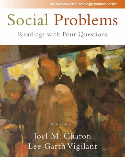 Social Problems Readings with Four Questions 3rd 2009 (Revised) edition cover