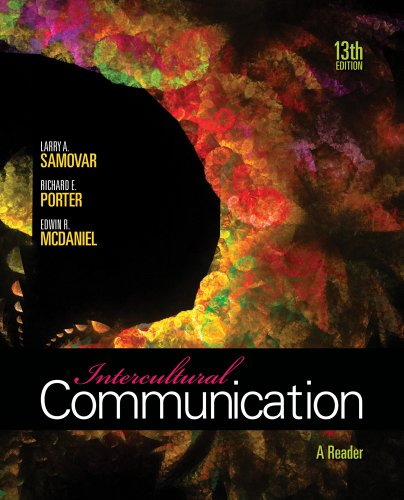 Intercultural Communication A Reader 13th 2012 edition cover