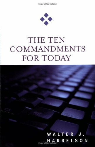 Ten Commandments for Today   2006 edition cover