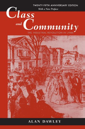 Class and Community The Industrial Revolution in Lynn 2nd 2000 edition cover