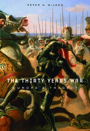 Thirty Years War Europe's Tragedy  2009 edition cover