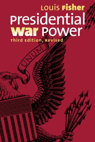 Presidential War Power:   2013 edition cover