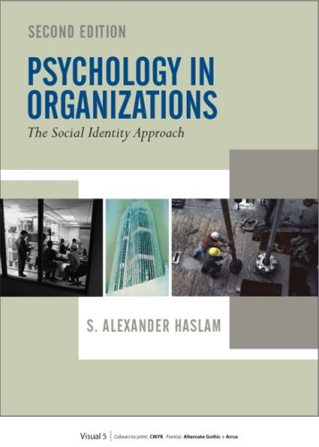 Psychology in Organizations  2nd 2004 (Revised) edition cover
