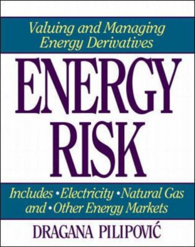 Energy Risk Valuing and Managing Energy Derivatives  1998 edition cover