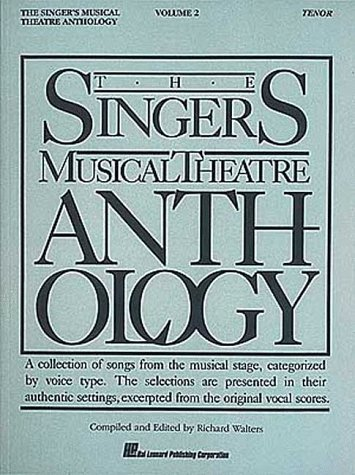 Singer's Musical Theatre Anthology - Tenor  N/A edition cover