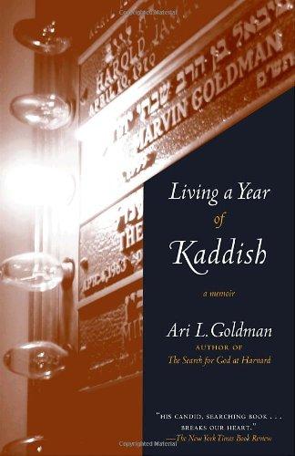 Living a Year of Kaddish A Memoir N/A edition cover