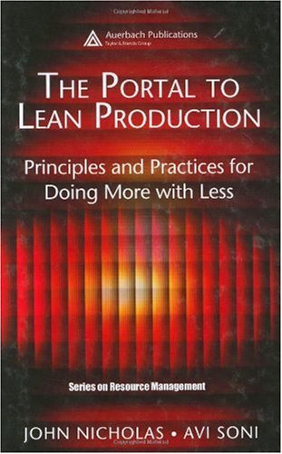 Portal to Lean Production Principles and Practices for Doing More with Less  2005 edition cover