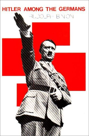 Hitler among the Germans   1984 (Reprint) edition cover