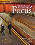 Reading and Vocabulary Focus 2   2014 edition cover