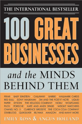 100 Great Businesses and the Minds Behind Them   2005 edition cover