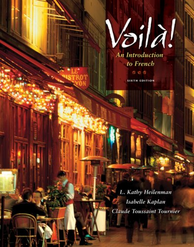 Voila! An Introduction to French 6th 2010 edition cover