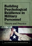 Building Psychological Resilience in Military Personnel: Theory and Practice  2013 edition cover