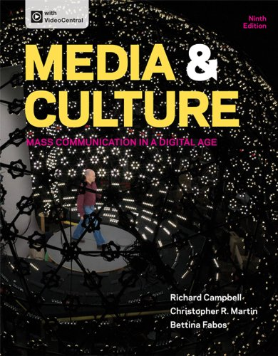 Media and Culture: An Introduction to Mass Communication  2013 edition cover