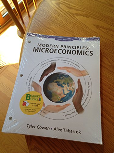 Modern Principles of Microeconomics:   2014 9781464110313 Front Cover