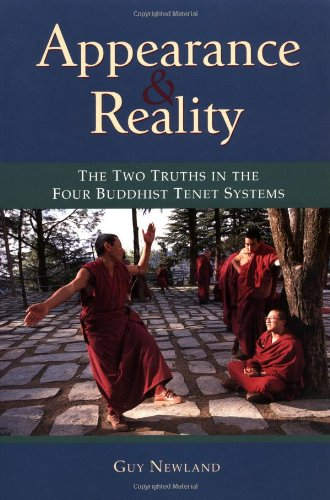 Appearance and Reality The Two Truths in the Four Buddhist Tenet Systems  1999 9781559391313 Front Cover