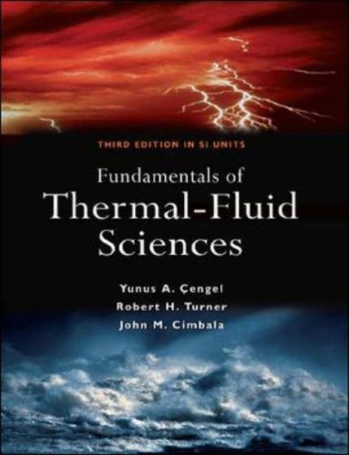 Fundamentals of Thermal-fluid Science  2008 edition cover