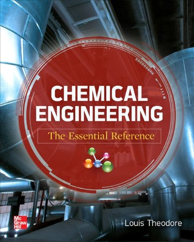 Chemical Engineering The Essential Reference  2014 edition cover