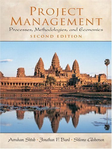 Project Management Processes, Methodologies, and Economics 2nd 2005 (Revised) edition cover
