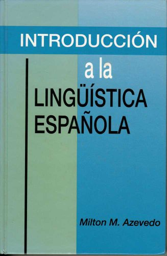 Introducci�n a la Ling��stica Espa�ola   1992 edition cover