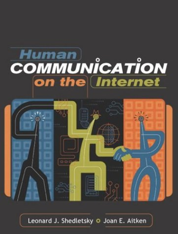 Human Communication on the Internet   2004 9780205360314 Front Cover