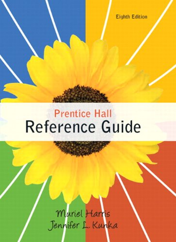 Prentice Hall Reference Guide  8th 2011 edition cover