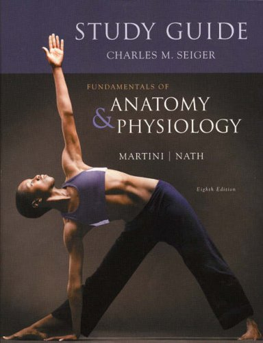 Study Guide for Fundamentals of Anatomy and Physiology  8th 2009 edition cover